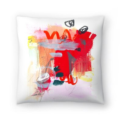 Olimpia Piccoli Her Majesty Throw Pillow Size: 14 x 14