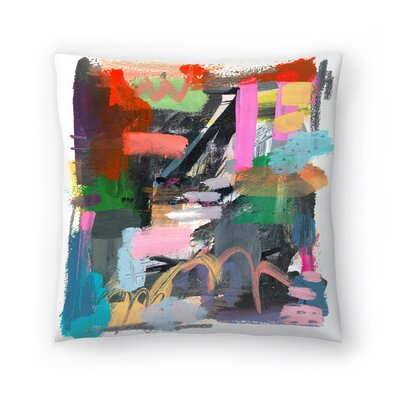 Olimpia Piccoli Let Them be Wild Throw Pillow Size: 16 x 16
