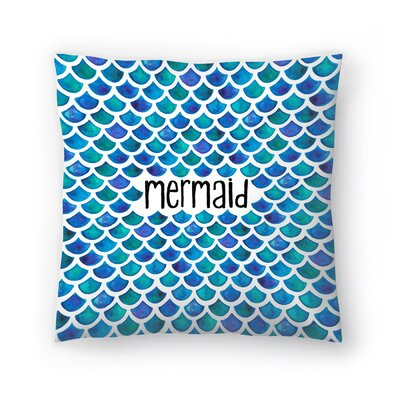 Elena ONeill Mermaid Throw Pillow Size: 16 x 16