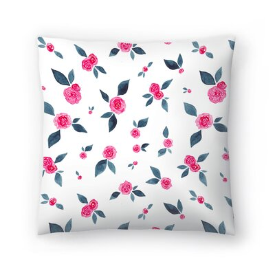 Elena ONeill Roses Throw Pillow Size: 18 x 18