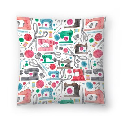 Elena ONeill Sewing Pattern Throw Pillow Size: 16 x 16