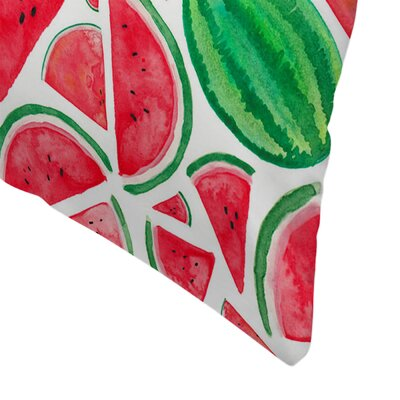 Elena ONeill Watermelons Throw Pillow Size: 14 x 14