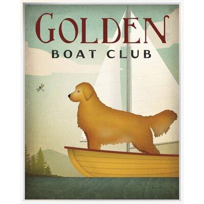 Golden Sail' Vintage Advertisement EUBM1990 42919827
