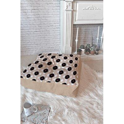Allyson Johnson Ikat Class Floor Pillow Size: 23 x 23