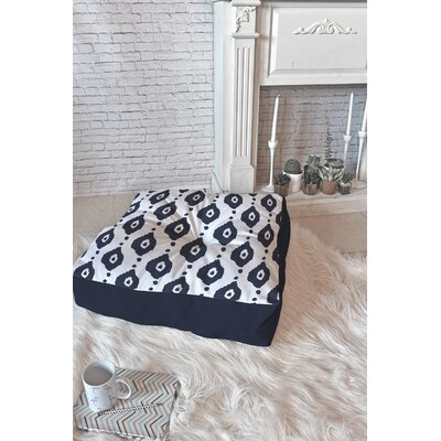 Allyson Johnson Ikat Floor Pillow Size: 26 x 26