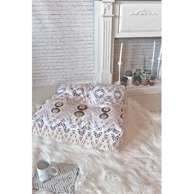 Ikat Floor Pillow Size: 26 x 26
