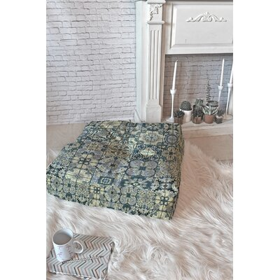Jenean Morrison Antiquely Floor Pillow Size: 23 x 23