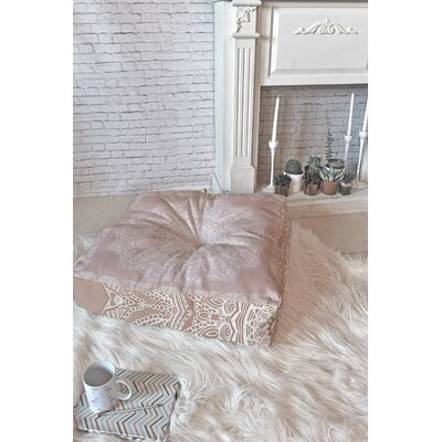 Rose Floor Pillow Size: 26 x 26