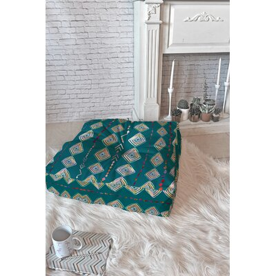 Iveta Abolina Polyester Blend Floor Pillow Size: 23 x 23