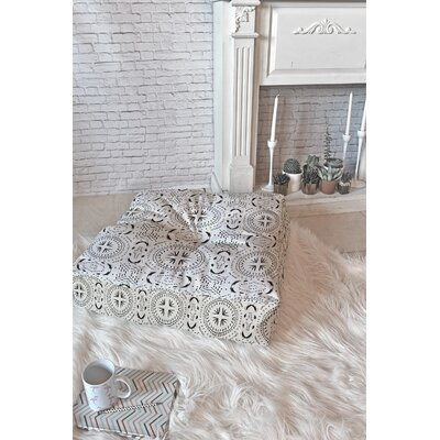 Holli Zollinger Mandala Tile Light Polyester blend Floor Pillow