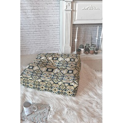 Marta Barragan Camarasa Mosaic Marbled Art Deco II Floor Pillow