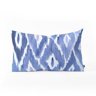 Ikat Lumbar Pillow Size: 14 x 23