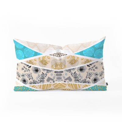 Marta Barragan Camarasa Geometric Mosaic Outdoor Lumbar Pillow Size: 14 x 23