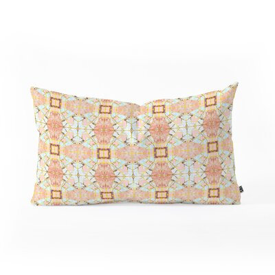 Marta Barragan Camarasa Marbled Geometric Mosaic Outdoor Lumbar Pillow Size: 14 x 23