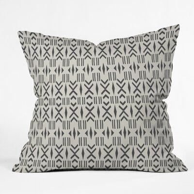 Balzer Geo Mudcloth Outdoor Throw Pillow Size: 20 x 20