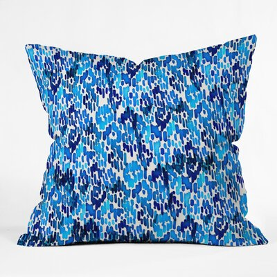 Cayenablanca Ikat Outdoor Throw Pillow Size: 26 x 26