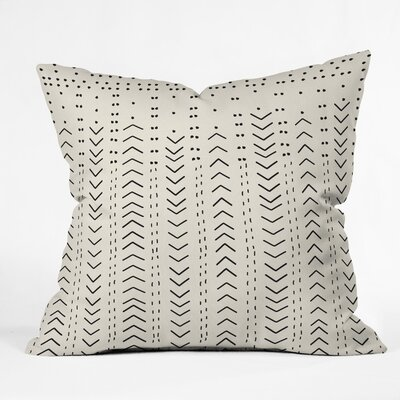 Iveta Abolina Mud Inspo Outdoor Throw Pillow Size: 18 H x 18 W