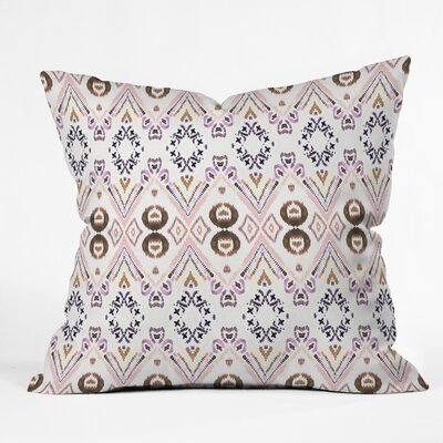 Ikat Outdoor Throw Pillow Size: 16 H x 16 W