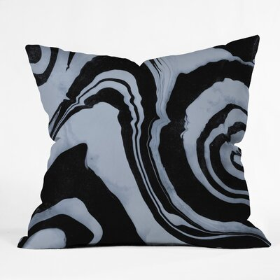 Susanne Kasielke Marble Structure Outdoor Throw Pillow Size: 18 x 18