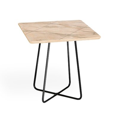 Iveta Abolina Alaskan Gelato End Table Base Color: Black