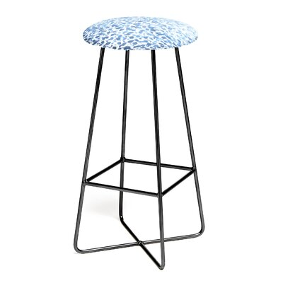Madart 30 Bar Stool Color: Black