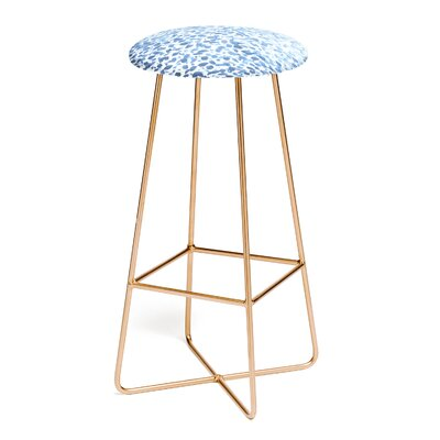 Madart 30 Bar Stool Color: Gold