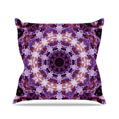 Mandala III Throw Pillow Size: 18 H x 18 W x 3 D