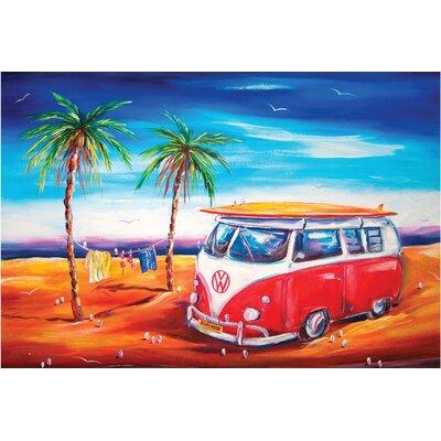Bus at the Beach Doormat