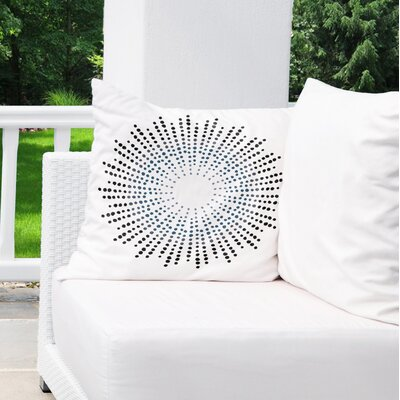 Geometric Indoor/Outdoor Euro Pillow