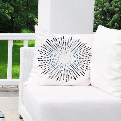Geometric Indoor/Outdoor Throw Pillow Size: 18 x 18
