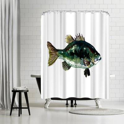 OLena Art Perch Shower Curtain