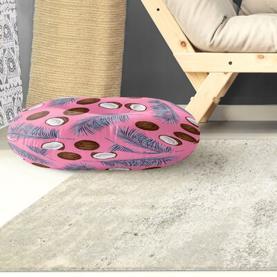 Coconut Floor Pillow Size: 26 H x 26 W