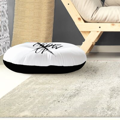 Grow Up Outdoor Floor Pillow Size: 26 x 26