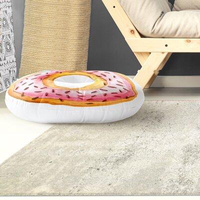 Modern Donut Round Floor Pillow Size: 26 H x 26 W
