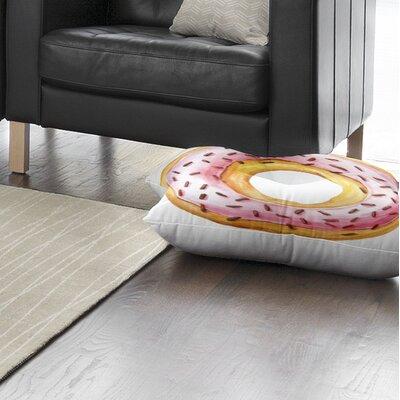 Donut Floor Pillow Size: 26 H x 26 W