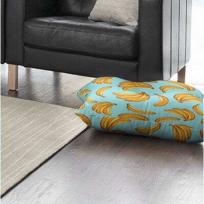 Banana Floor Pillow Size: 26 H x 26 W