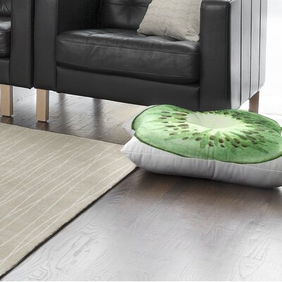 Kiwi Floor Pillow Size: 26 H x 26 W