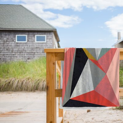 Canvas 3 Beach Towel