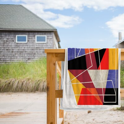 Colorblock VII Beach Towel