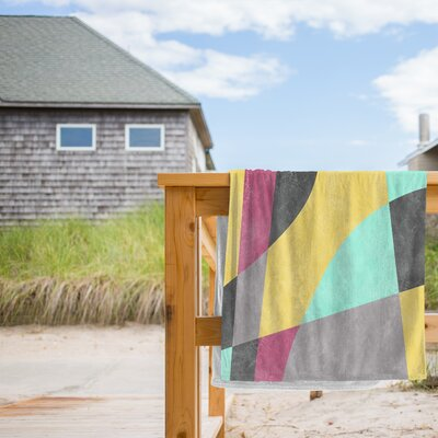 Fragments II Beach Towel