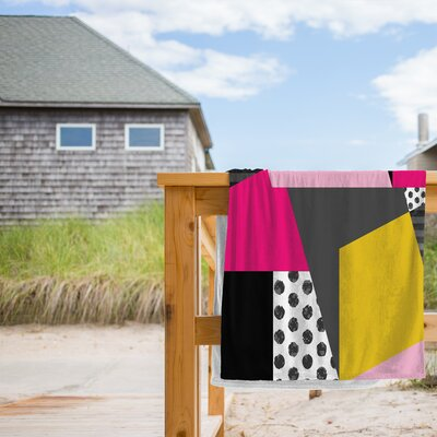 Geometric 13 Beach Towel