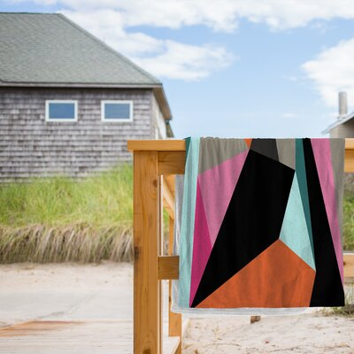 Geometric 21 Beach Towel