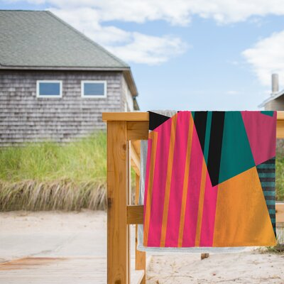 Geometric 23 Beach Towel