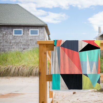 Graphic 3 Beach Towel