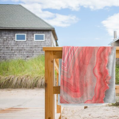 Painted Agate Beach Towel