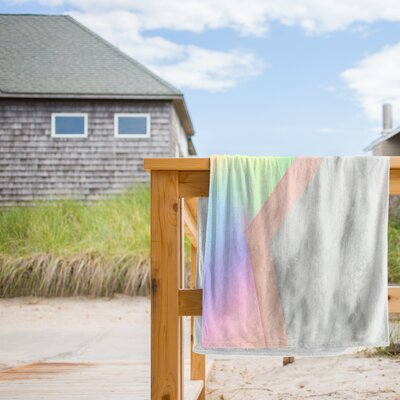 Unicorn Marble Beach Towel