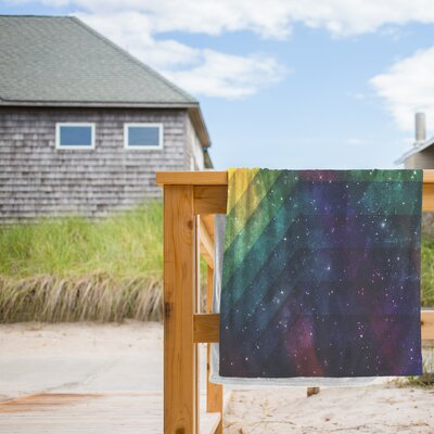 Time and Space Beach Towel