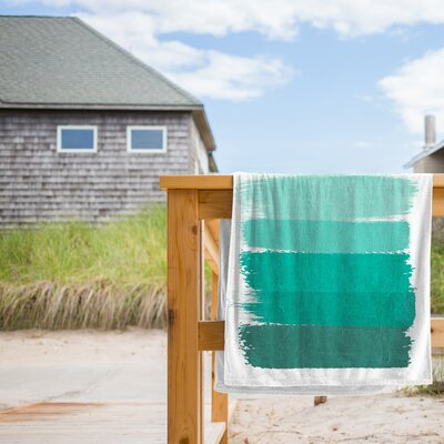 Ombre Beach Towel