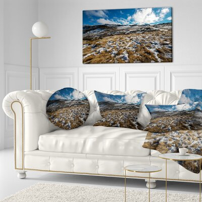 Top of Kosciuszko National Park Seashore Throw Pillow Size: 20 x 20