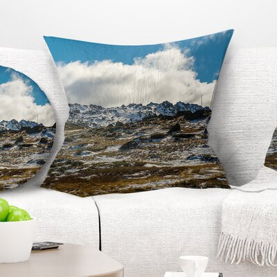 Wide View of Kosciuszko National Park Seashore Pillow Size: 26 x 26, Product Type: Euro Pillow